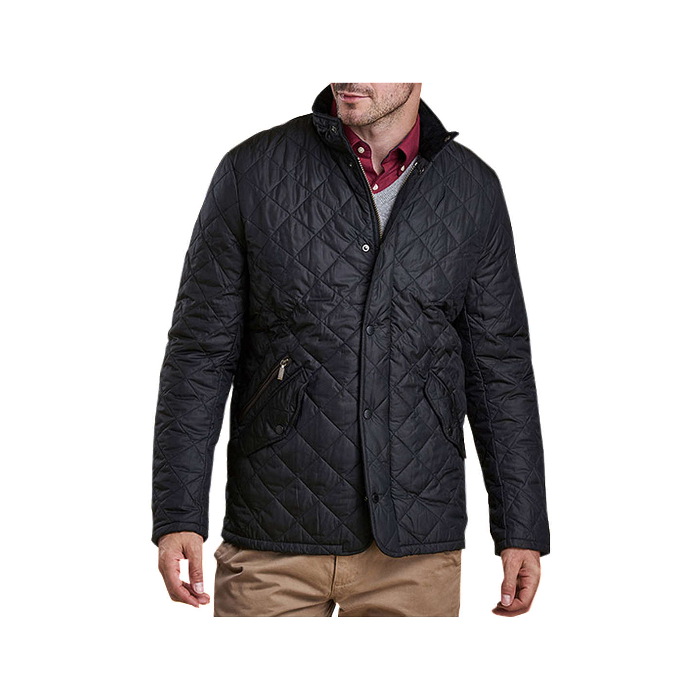 quilt quilted black p badrhino jacket