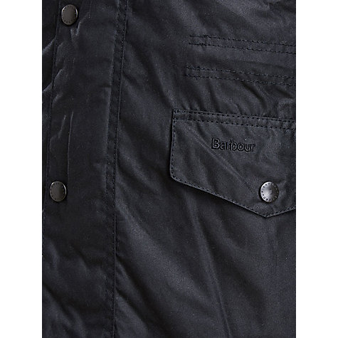 Buy Barbour Sapper Jacket, Black Online at johnlewis.com