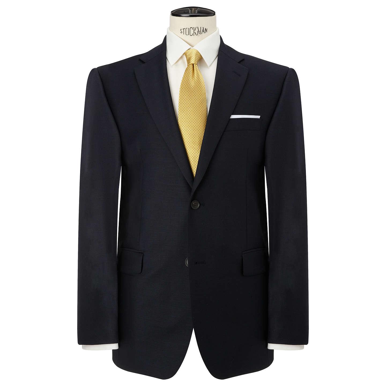Latest Latest John Lewis Regular Fit Sharkskin Suit Jacket Navy for Men Online Sale Sale