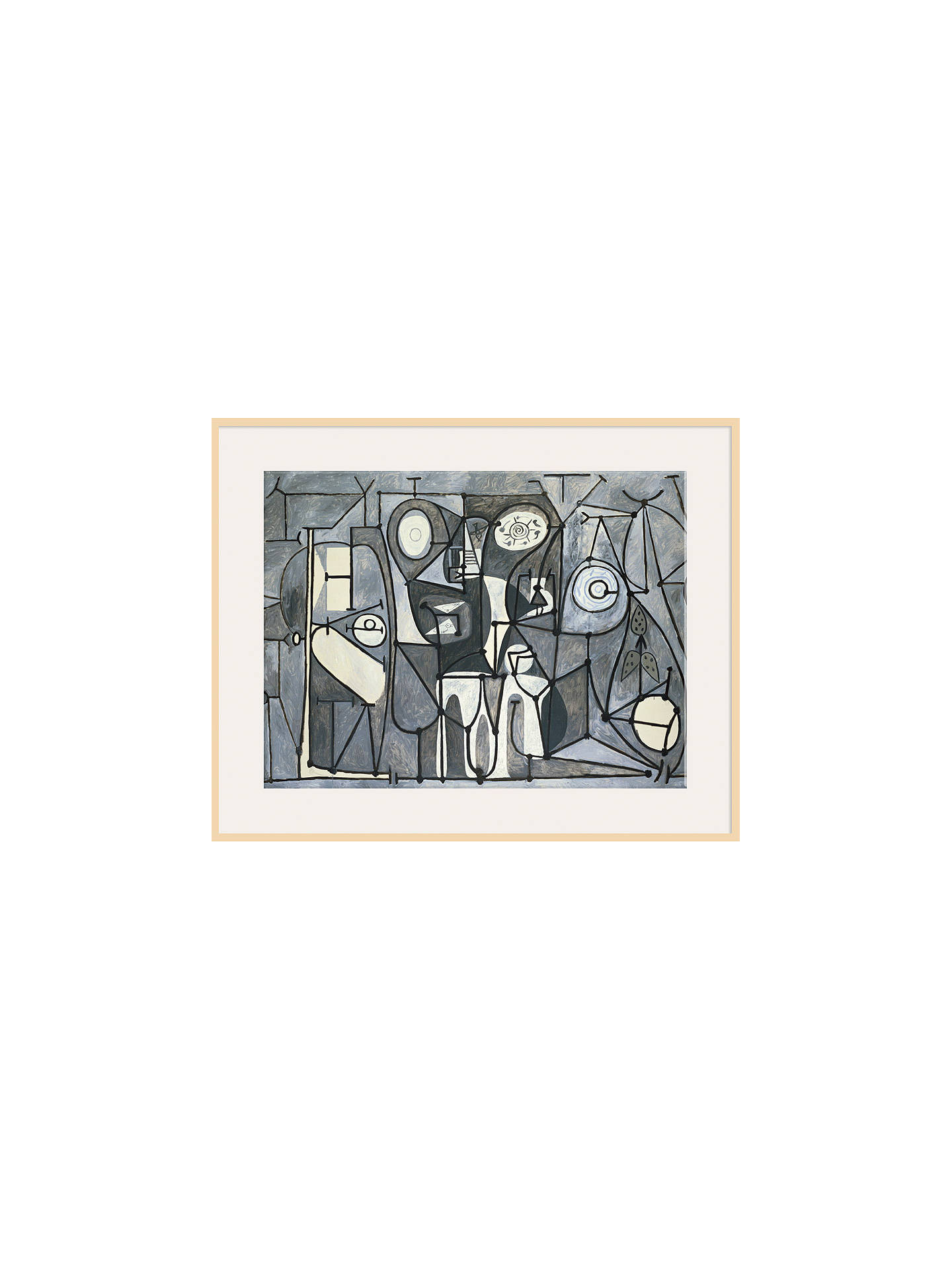 Buy Pablo Picasso - The Kitchen, Natural Ash Framed Print, 60 x 80cm Online at johnlewis.com