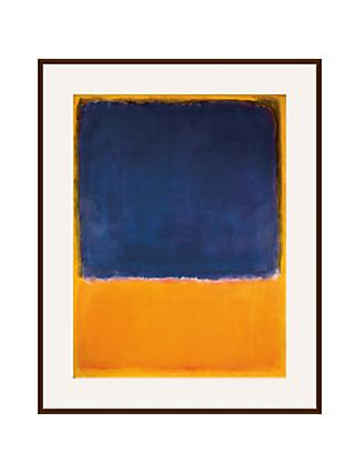 Rothko - Untitled 1950 Ash Wood Framed Print, 60 x 80cm