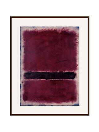 Rothko - Untitled 1963 Ash Wood Framed, 80 x 60cm