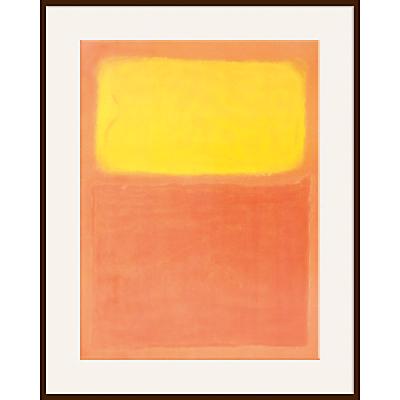 Rothko – Orange and Yellow
