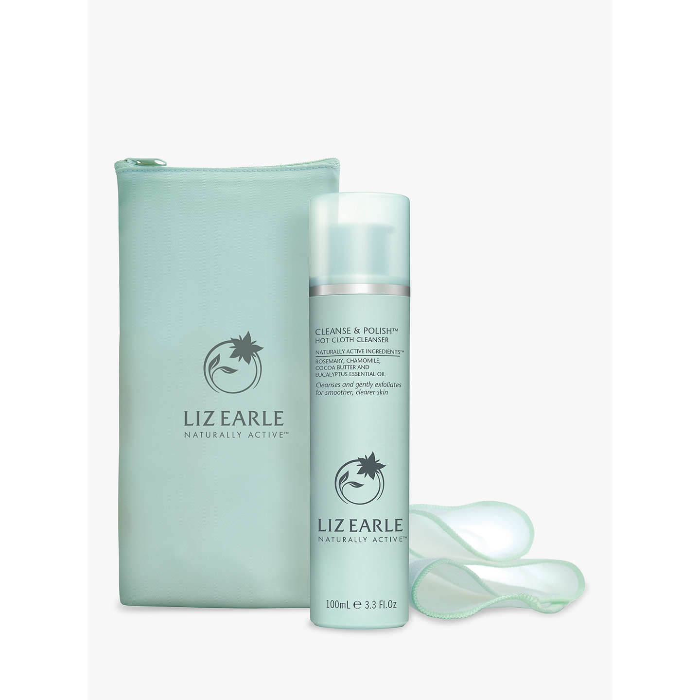 BuyLiz Earle Cleanse & Polish™ Hot Cloth Cleanser, 100ml with 2 Muslin Cloths Online at johnlewis.com