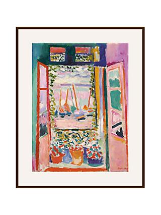 Henri Matisse - The Open Window Ash Wood Framed Print