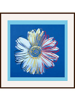 Warhol - Daisy 1982, Blue on Blue