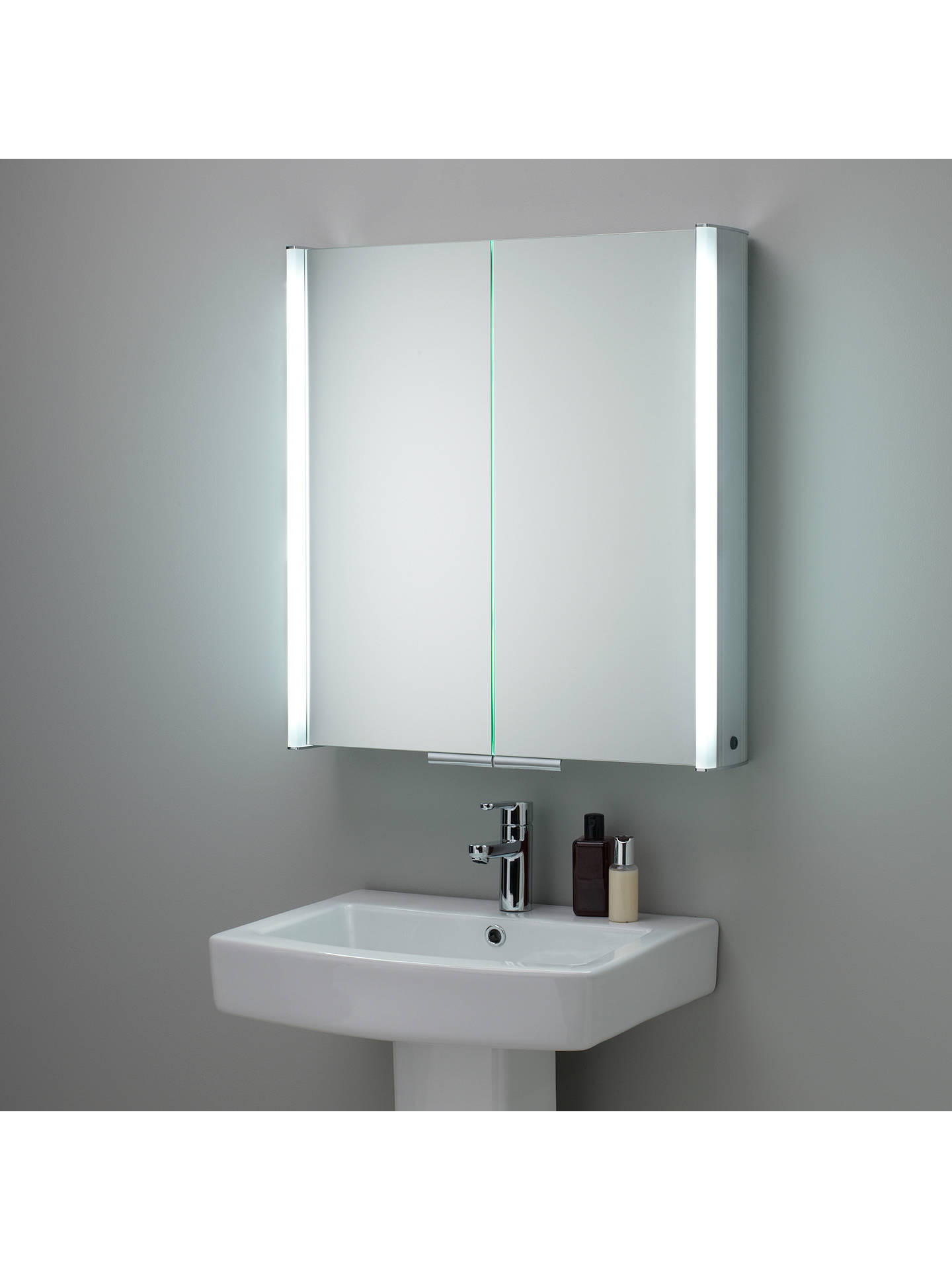 Roper Rhodes Summit Illuminated Double Bathroom Cabinet