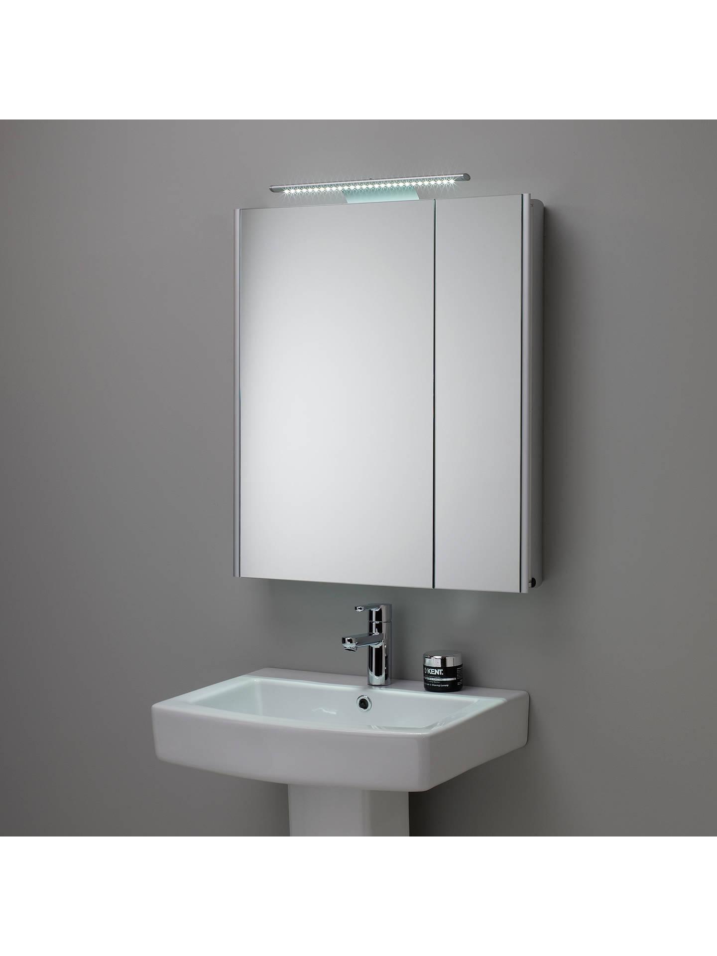 Roper Rhodes Refine Illuminated Double Mirrored Bathroom Cabinet At