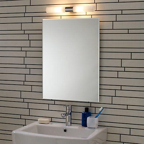 Buy astro padova over mirror bathroom light john lewis John lewis bathroom design and fitting
