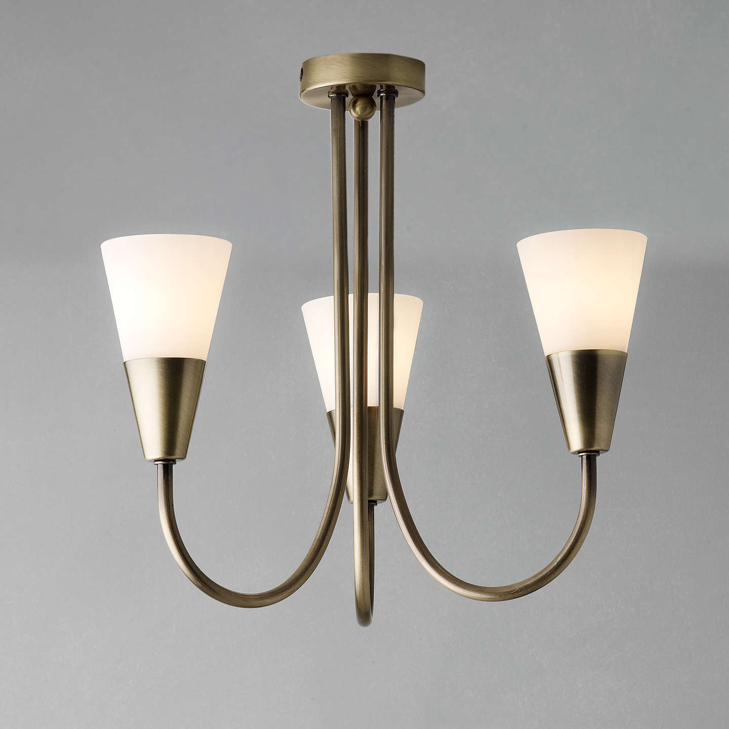John lewis the basics lulu ceiling light 3 arm at john lewis buyjohn lewis the basics lulu ceiling light 3 arm antique brass online at johnlewis aloadofball Image collections