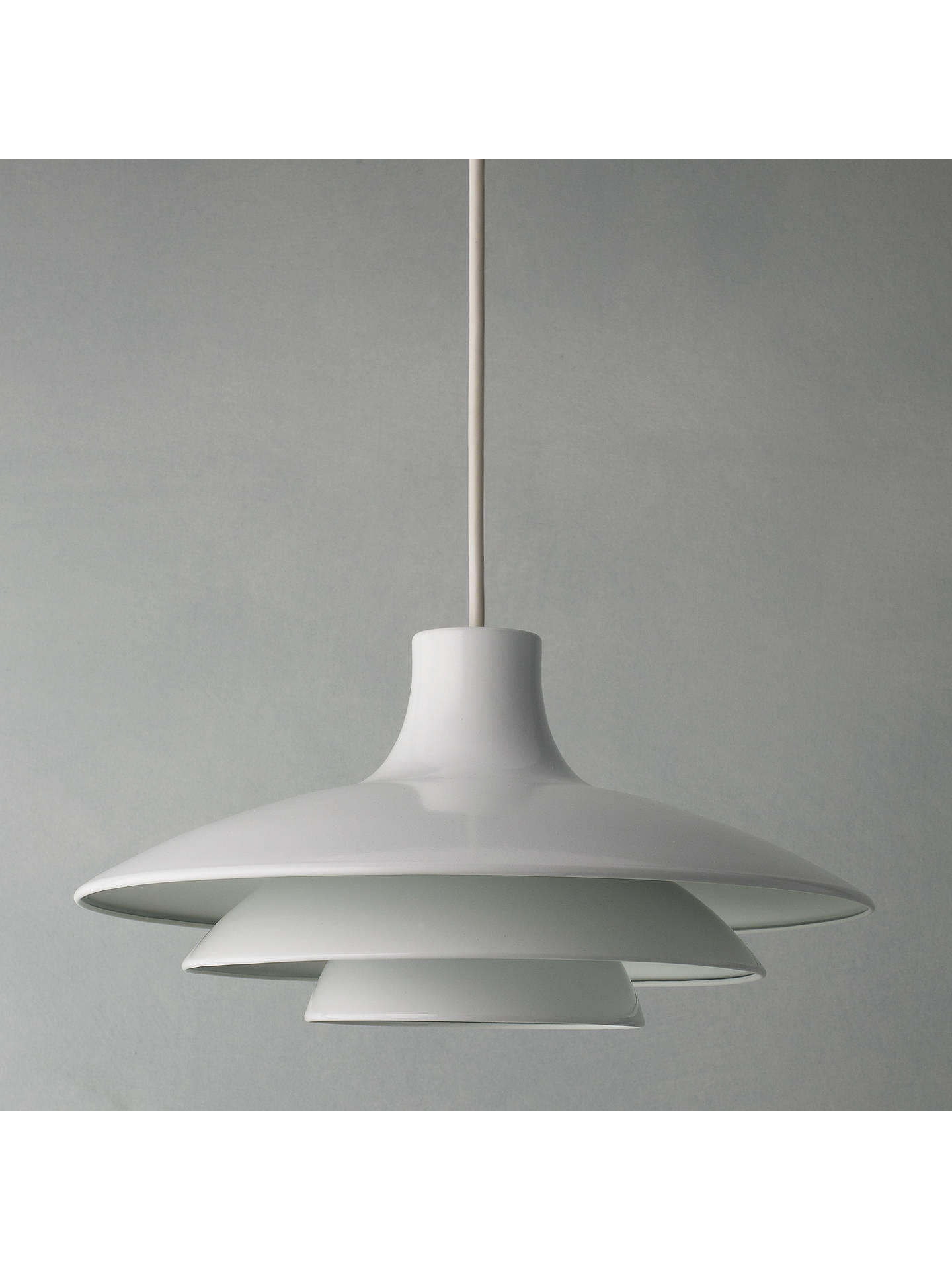 BuyHouse by John Lewis Easy-to-fit Harvey Shade, White Online at johnlewis.com