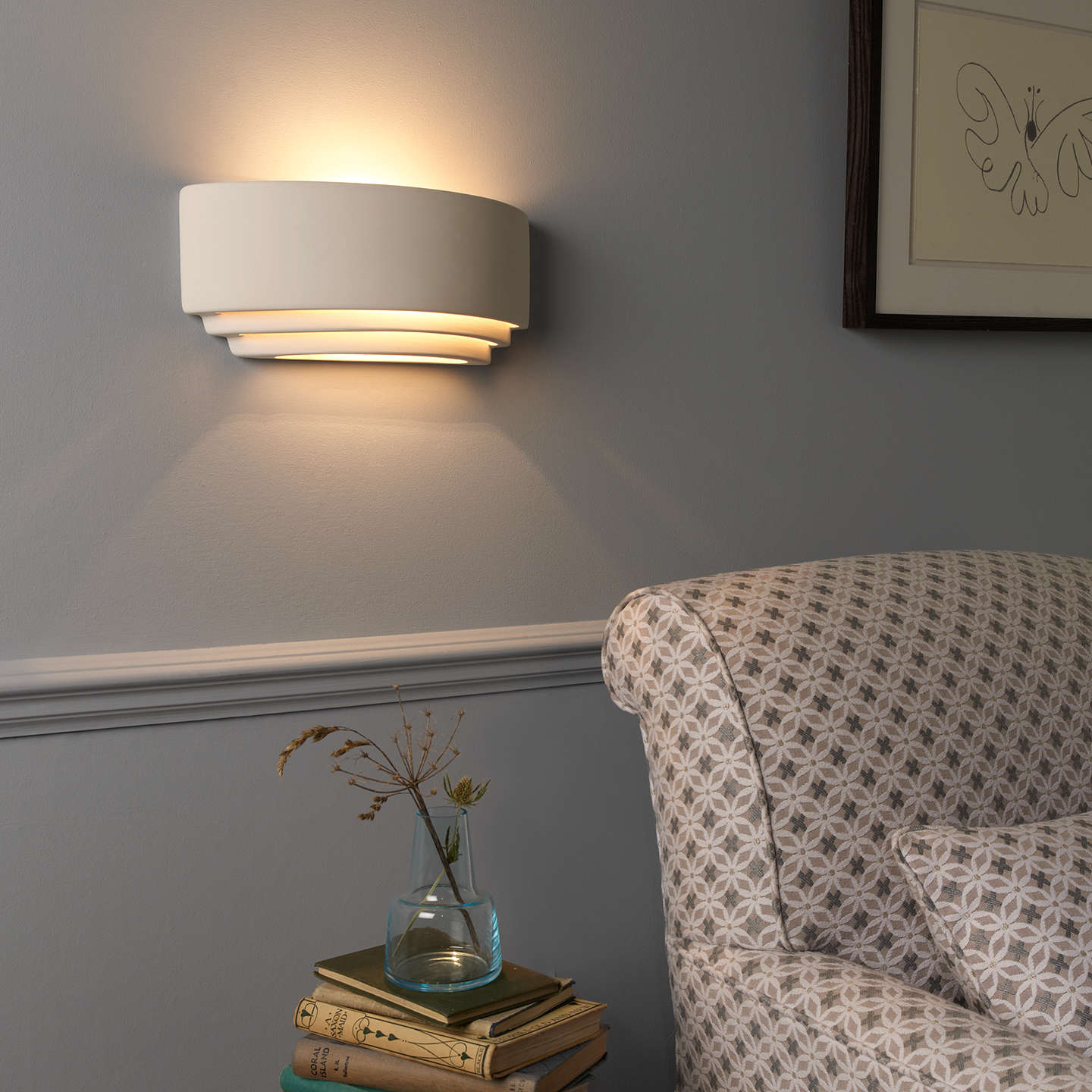 Astro amalfi wall light at john lewis buyastro amalfi wall light online at johnlewis aloadofball Image collections