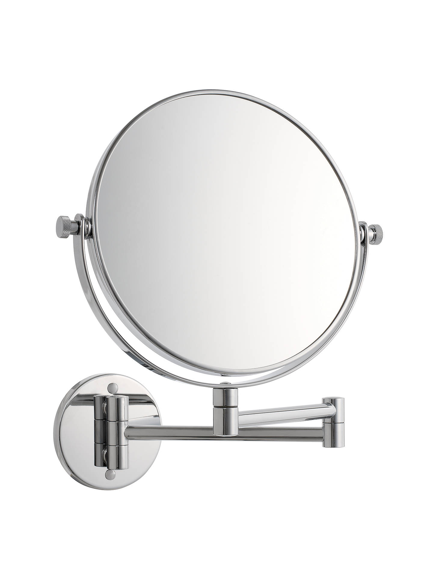 BuyJohn Lewis & Partners Chrome Extending Magnifying Mirror Online at johnlewis.com