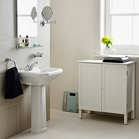 Buy John Lewis Chrome Extending Magnifying Mirror Online at johnlewis.com