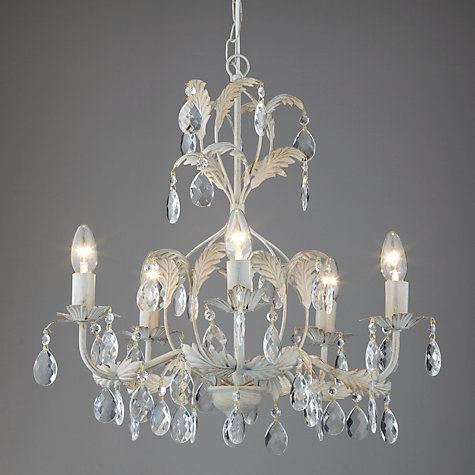 Buy john lewis annabella chandelier 5 arm john lewis buy john lewis annabella chandelier 5 arm online at johnlewis mozeypictures Gallery