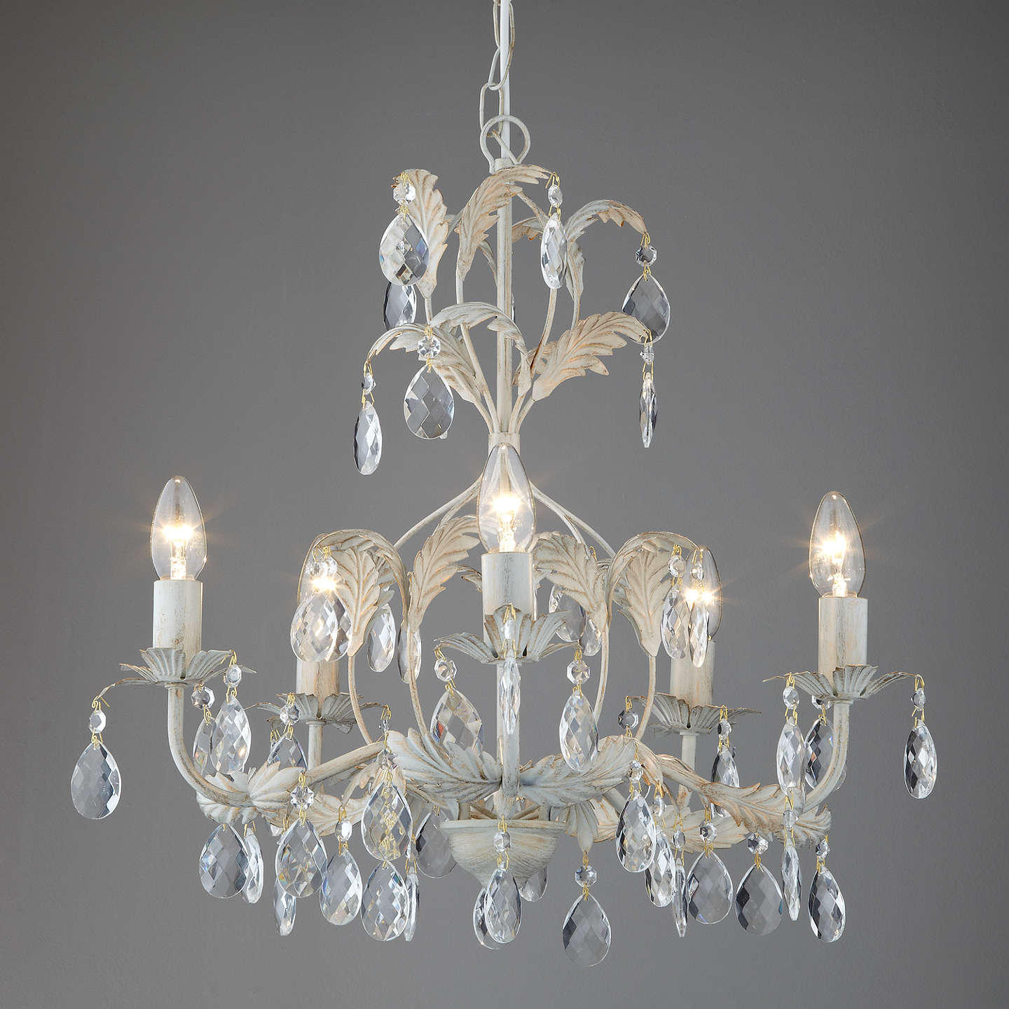 John lewis annabella chandelier 5 arm at john lewis buyjohn lewis annabella chandelier 5 arm online at johnlewis mozeypictures Choice Image