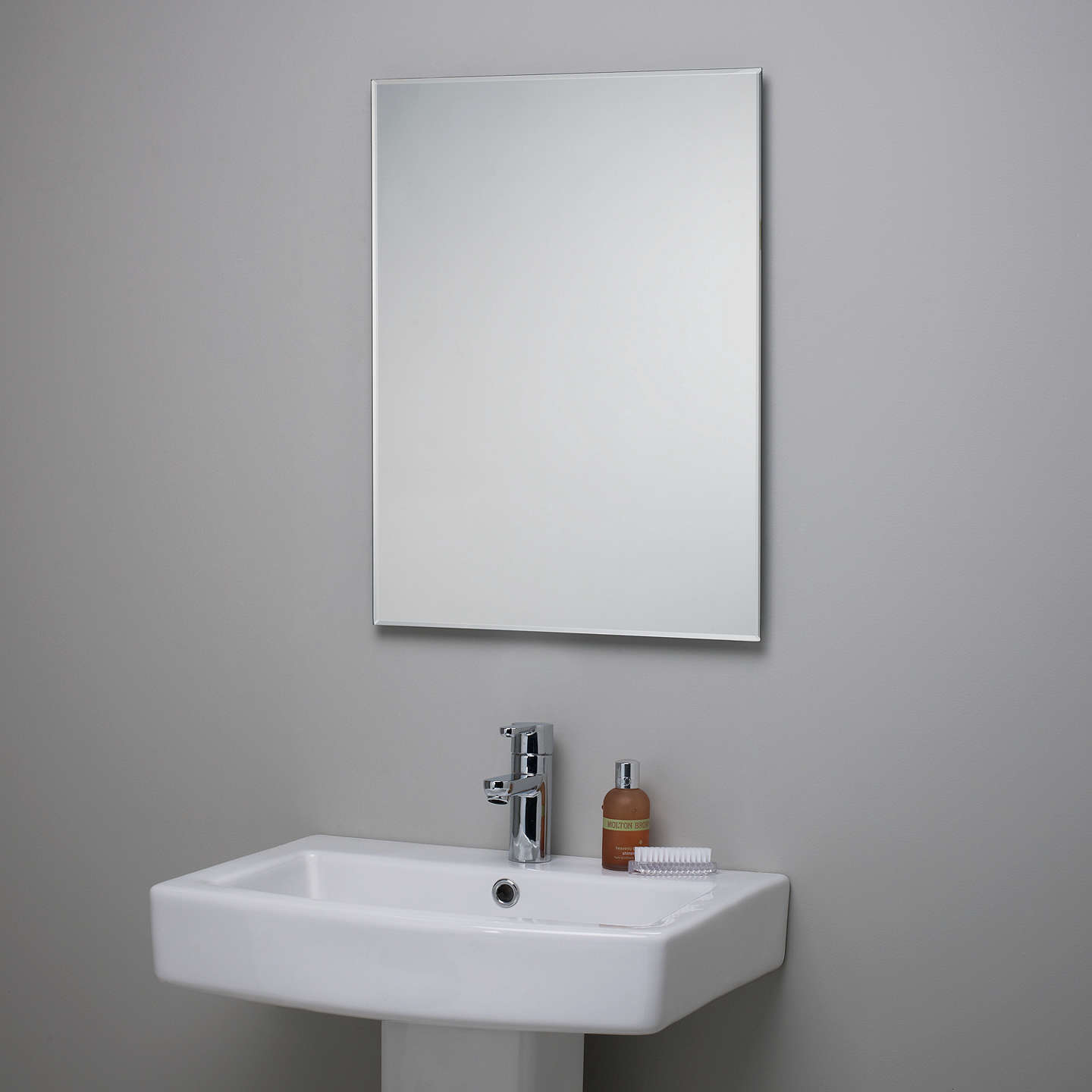 plain bathroom mirrors lewis bevelled edge bathroom mirror at lewis 13994