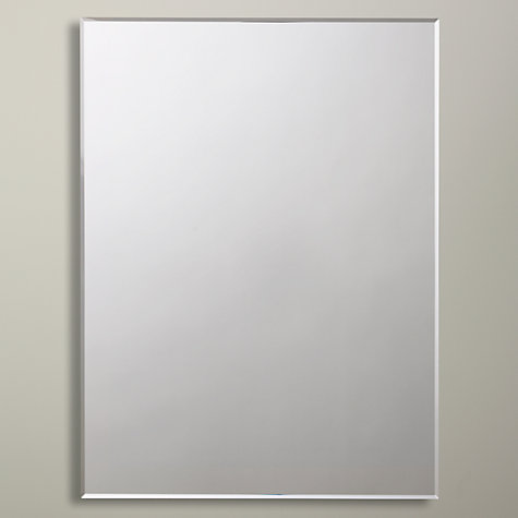 bevelled bathroom mirrors buy lewis bevelled edge bathroom mirror lewis 12074