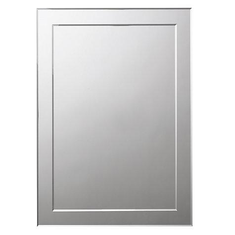 Bathroom Mirror John Lewis buy john lewis duo wall bathroom mirror, 60 x 45cm | john lewis