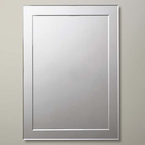 Buy john lewis duo wall bathroom mirror 60 x 45cm john for Mirror 45 x 60