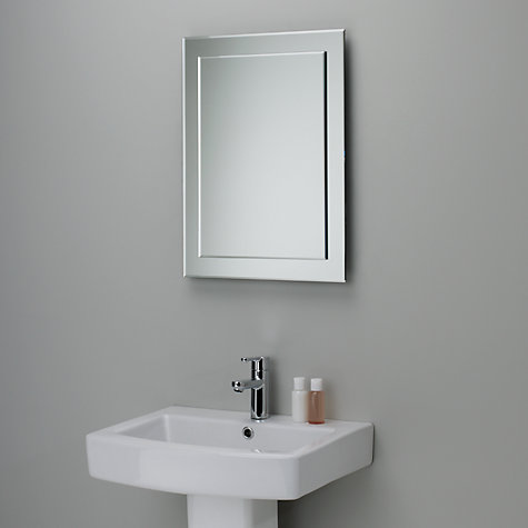 Buy John Lewis Duo Wall Bathroom Mirror, 60 X 45cm Online At Johnlewis.com  ...