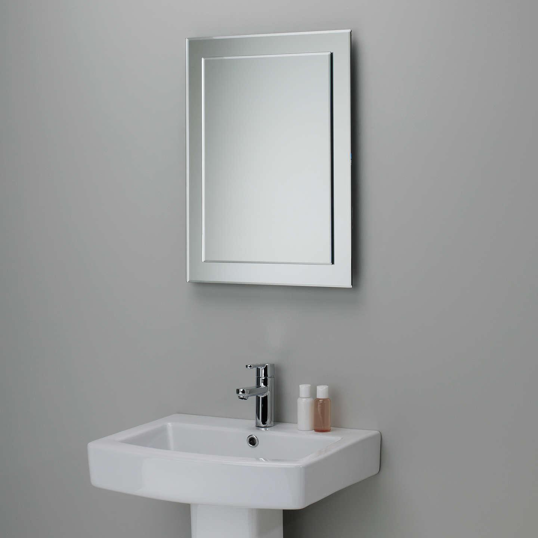 BuyJohn Lewis Duo Wall Bathroom Mirror, 60 X 45cm Online At Johnlewis.com  ...