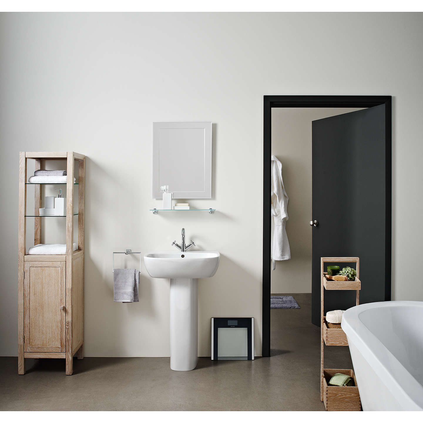 john lewis duo wall bathroom mirror 60 x 45cm at john lewis. Black Bedroom Furniture Sets. Home Design Ideas