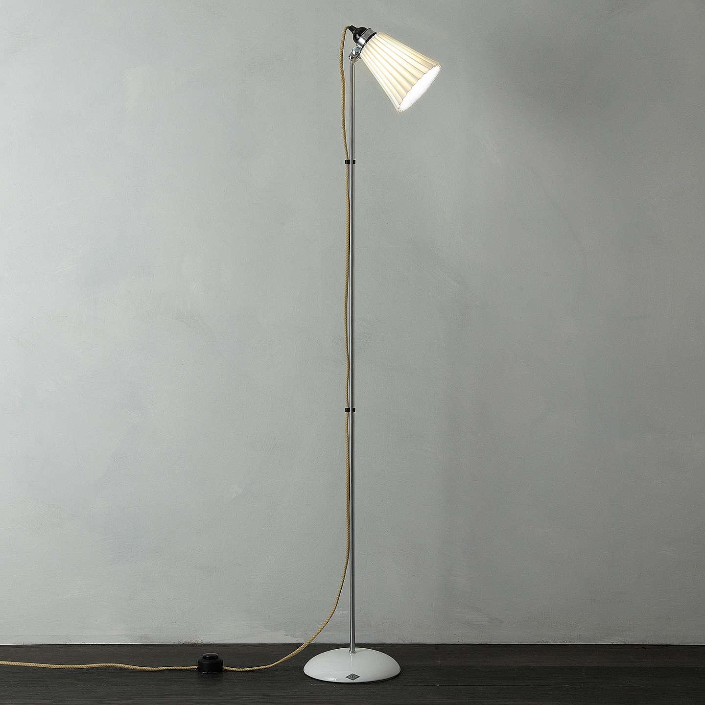 Original btc hector pleat floor lamp at john lewis for John lewis floor lamp reading