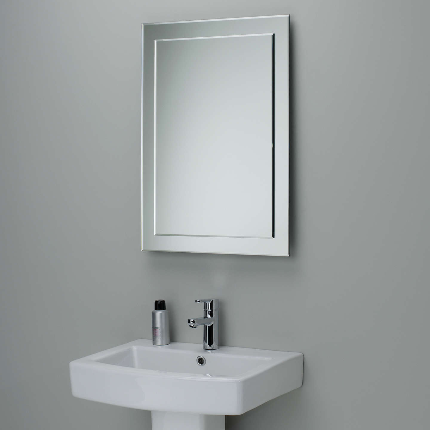 John Lewis Duo Wall Bathroom Mirror 70 X 50cm At John Lewis