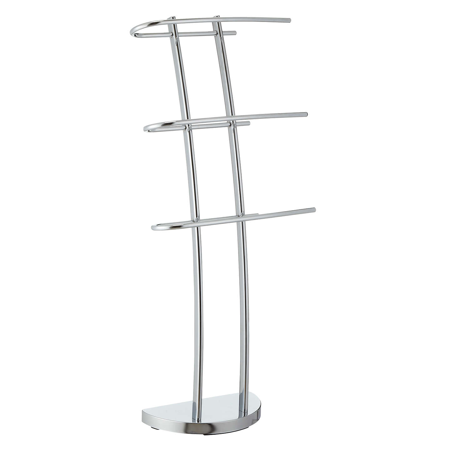 Buyjohn Lewis Shine 3 Arm Towel Stand Online At Johnlewiscom
