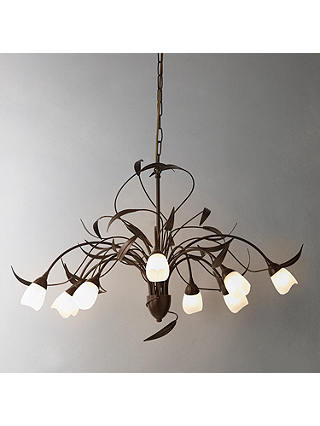 Buy John Lewis & Partners Yasmin Ceiling Light, 10 Arm Online at johnlewis.com
