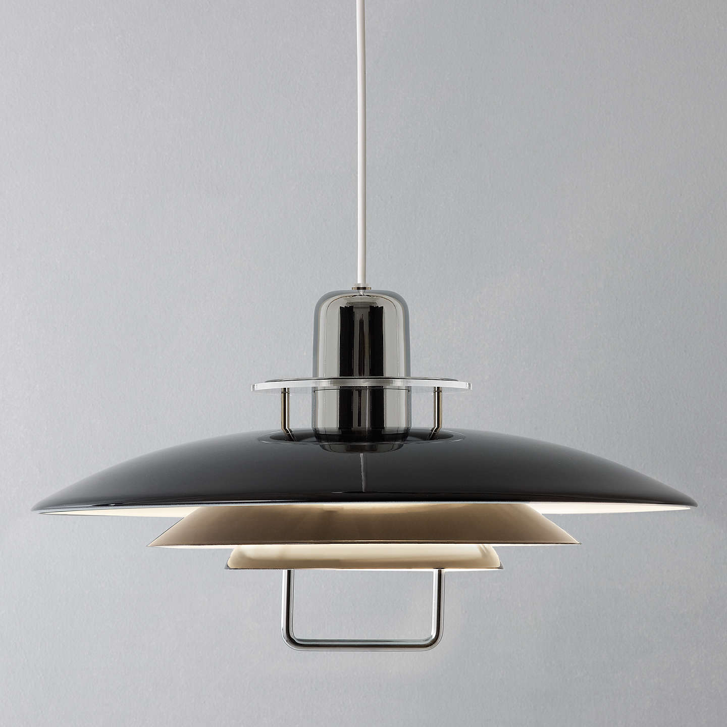Industrial Rise And Fall Pendant Light: Belid Felix Rise And Fall Ceiling Light At John Lewis