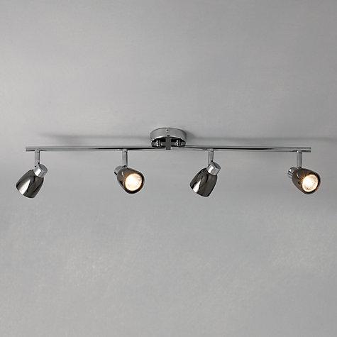 Buy John Lewis Fenix 4 LED Spotlight Ceiling Bar Black Pearl Nickel Online at johnlewis ... & Buy John Lewis Fenix 4 LED Spotlight Ceiling Bar Black Pearl ... azcodes.com