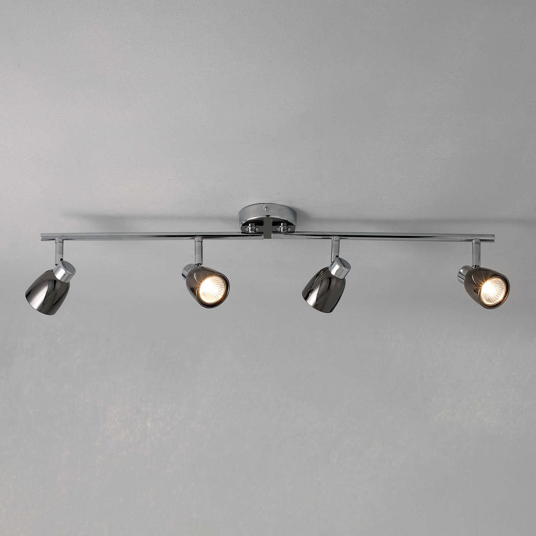 John lewis fenix 4 led spotlight ceiling bar black pearl nickel at buyjohn lewis fenix 4 led spotlight ceiling bar black pearl nickel online at johnlewis aloadofball Images