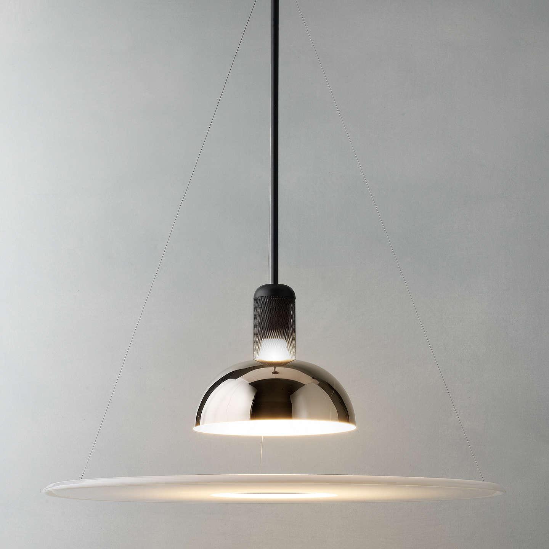 Flos frisbi ceiling light at john lewis for Castiglioni light
