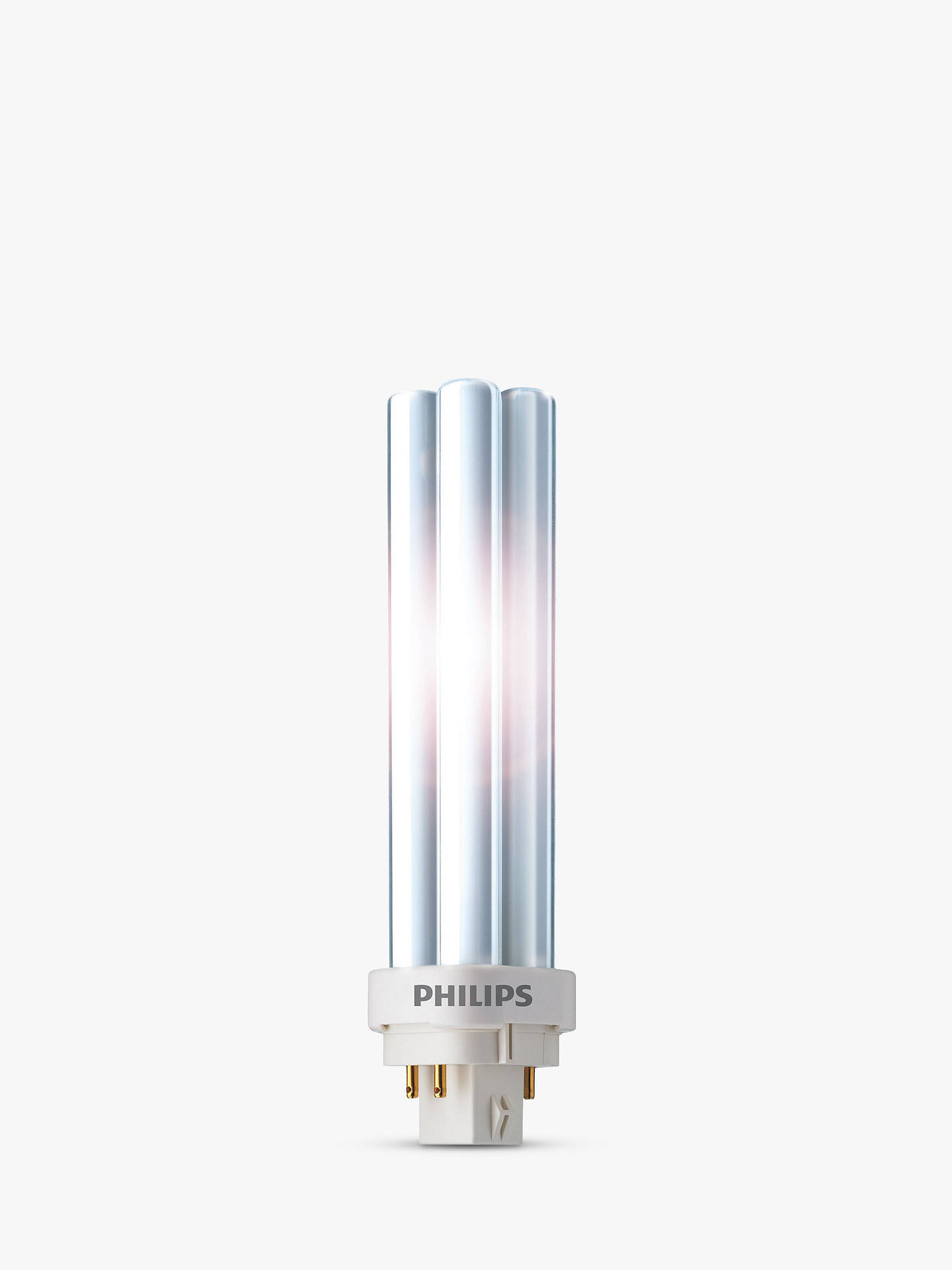 BuyPhilips PLC 4 Pin G24Q-827/4P Energy Saver Bulb, 10W Online at johnlewis.com
