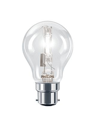 Philips 28W BC Halogen Classic Bulb, Clear