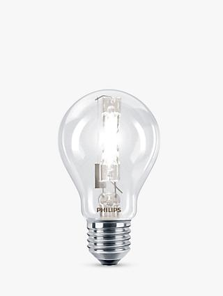 Philips 42W ES Halogen Classic Bulb, Clear