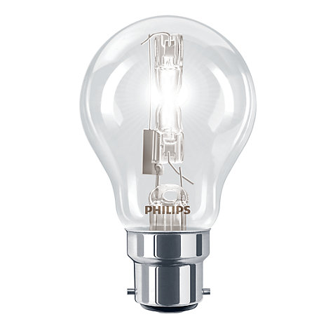 Buy Philips 70W BC Halogen Classic Bulb, Clear Online at johnlewis.com
