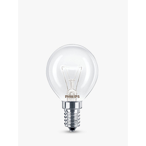 Buy Philips 40W SES Oven Lamp Online at johnlewis.com