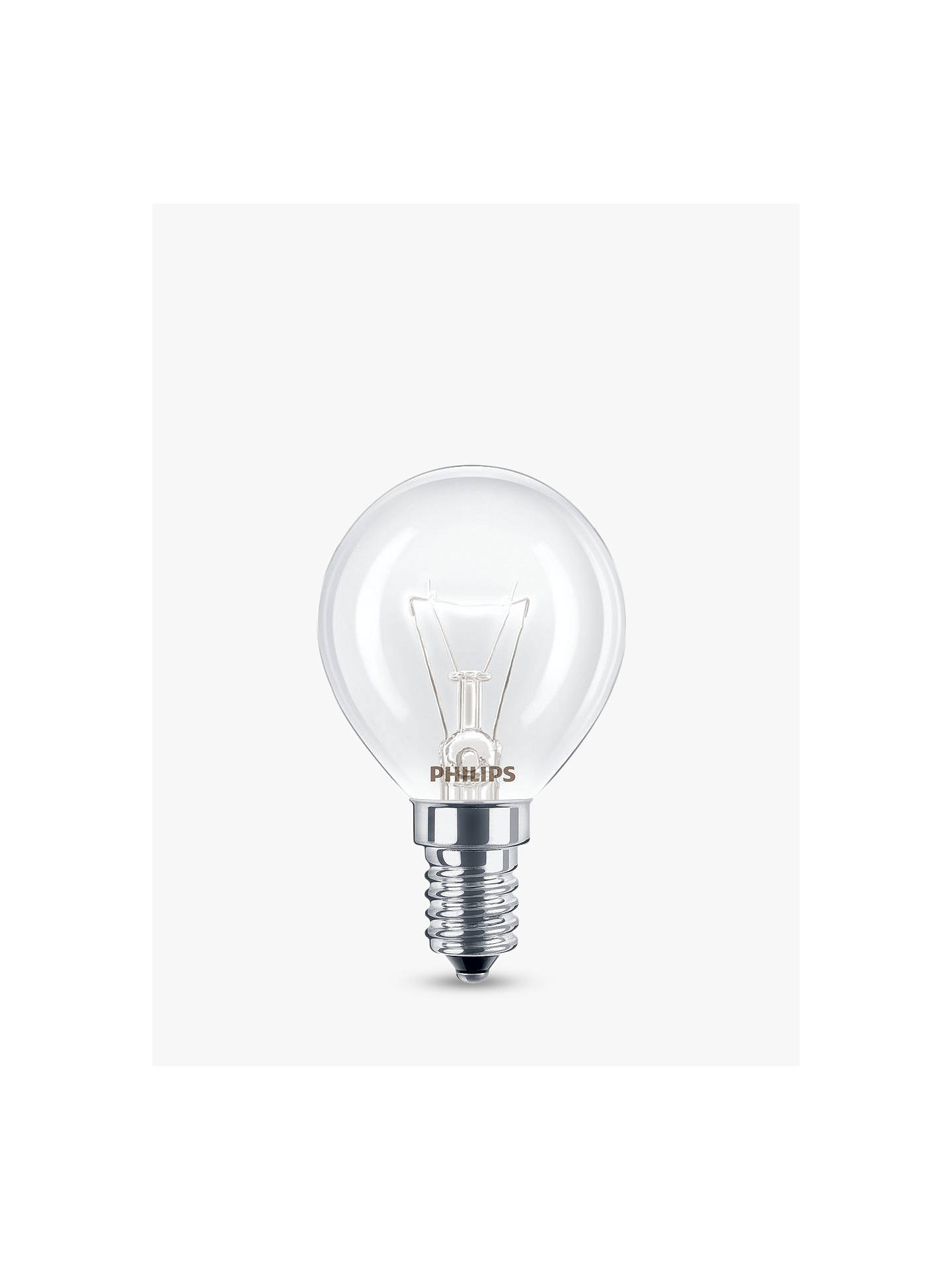 BuyPhilips 40W SES Oven Lamp Online at johnlewis.com