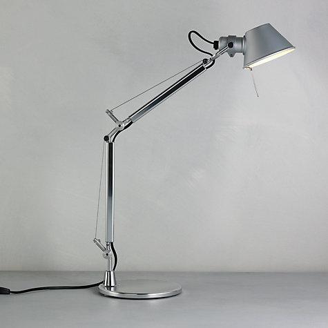 buy artemide tolomeo micro desk lamp john lewis