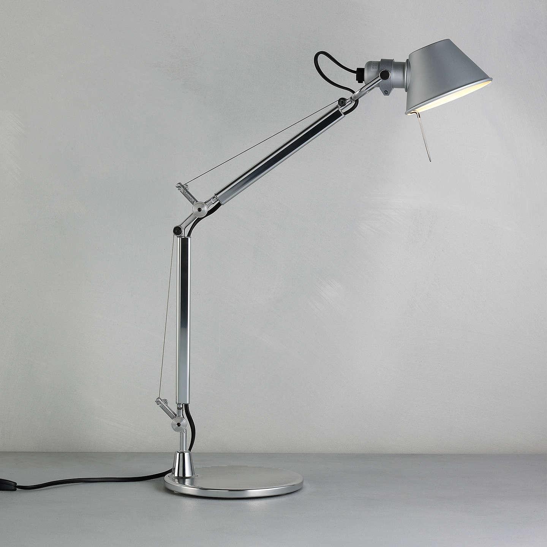 BuyArtemide Tolomeo Micro Desk Lamp, Aluminium Online At Johnlewis.com ...