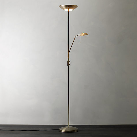 Buy John Lewis Zella Uplighter Floor Lamp Online at johnlewis.com