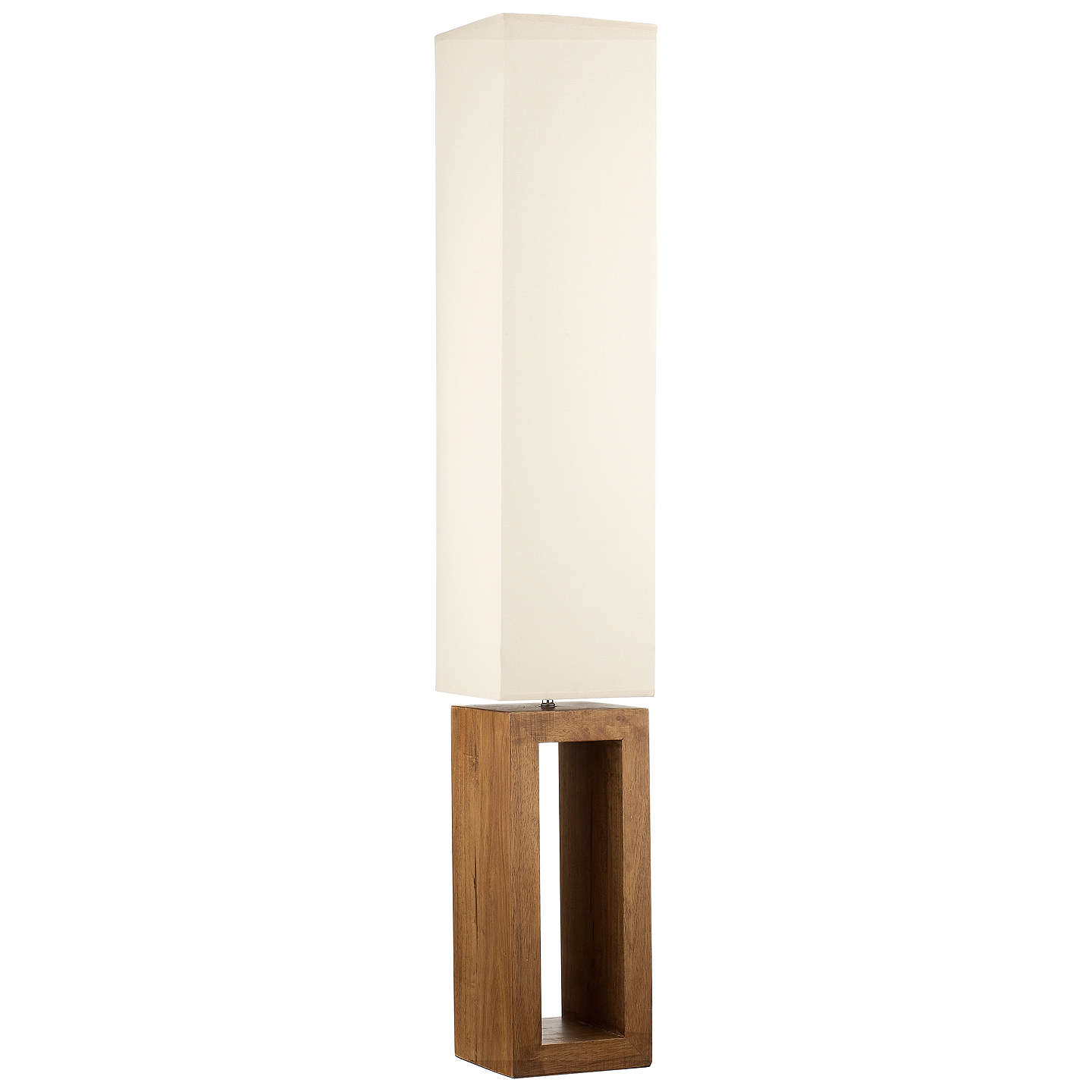 John lewis echo wood floor lamp at john lewis buyjohn lewis echo wood floor lamp online at johnlewis mozeypictures Choice Image