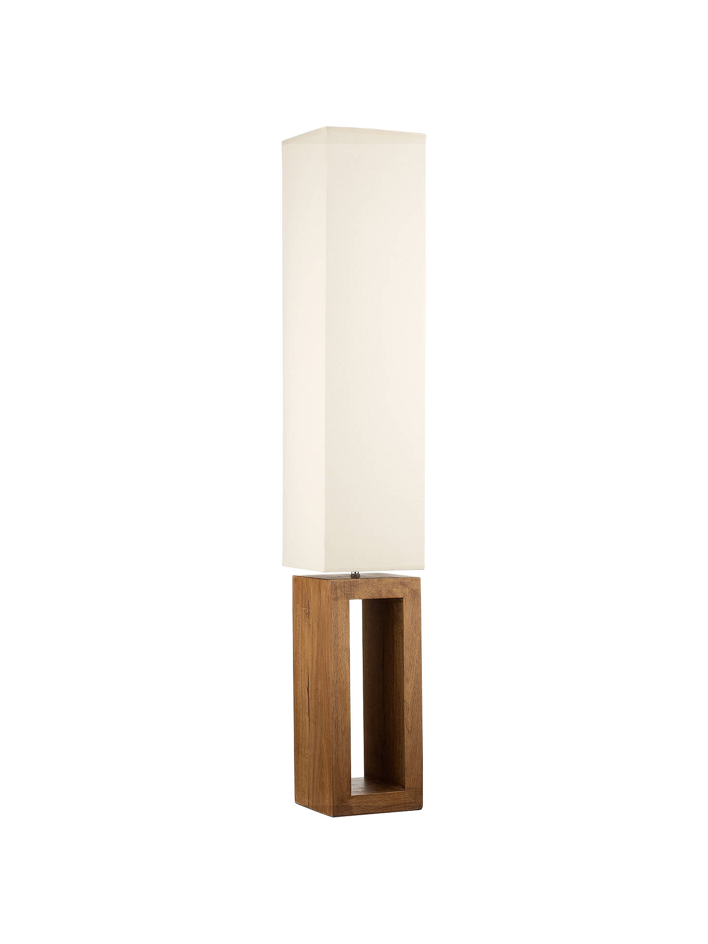 BuyJohn Lewis & Partners Echo Wood Floor Lamp Online at johnlewis.com