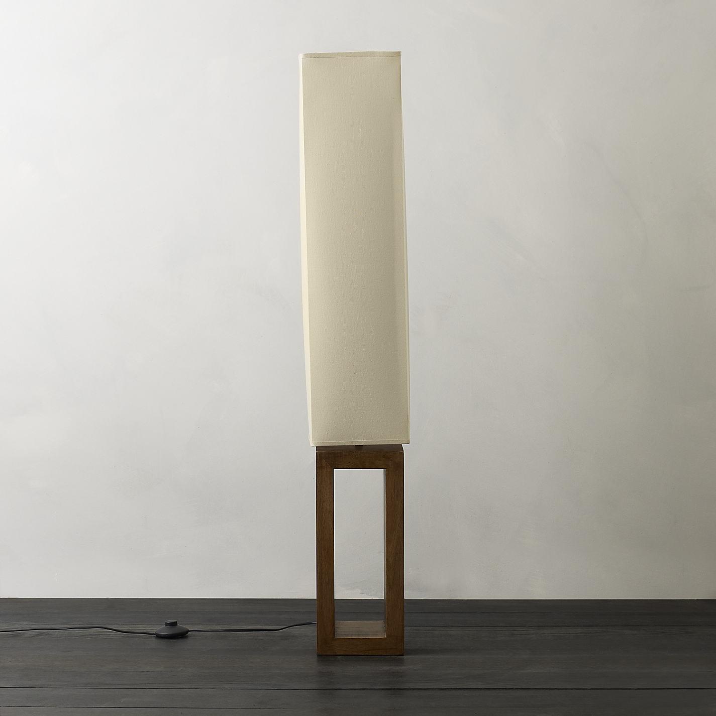 buy john lewis echo wood floor lamp online at
