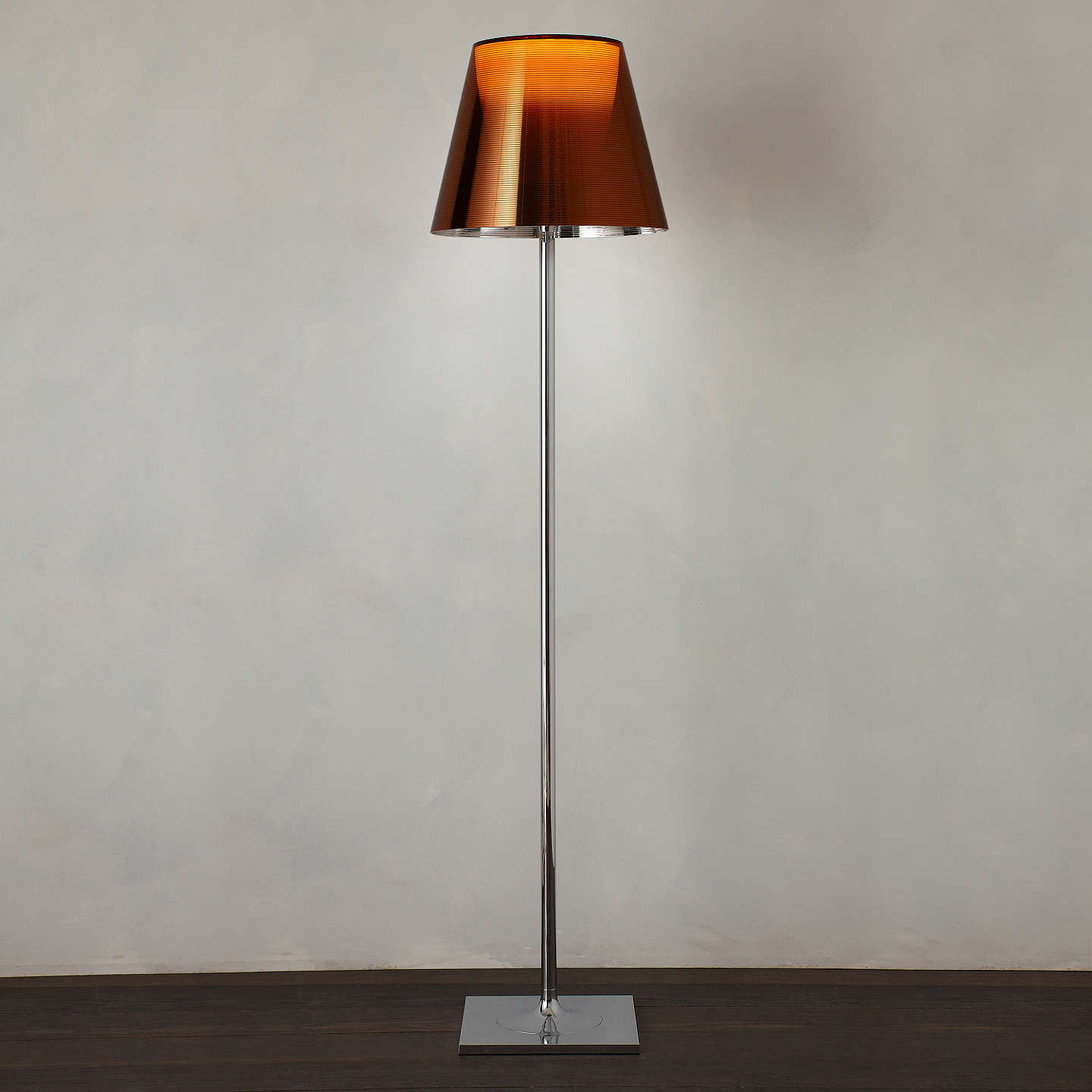 Flos ktribe f2 floor lamp bronze at john lewis buyflos ktribe f2 floor lamp bronze online at johnlewis aloadofball Choice Image