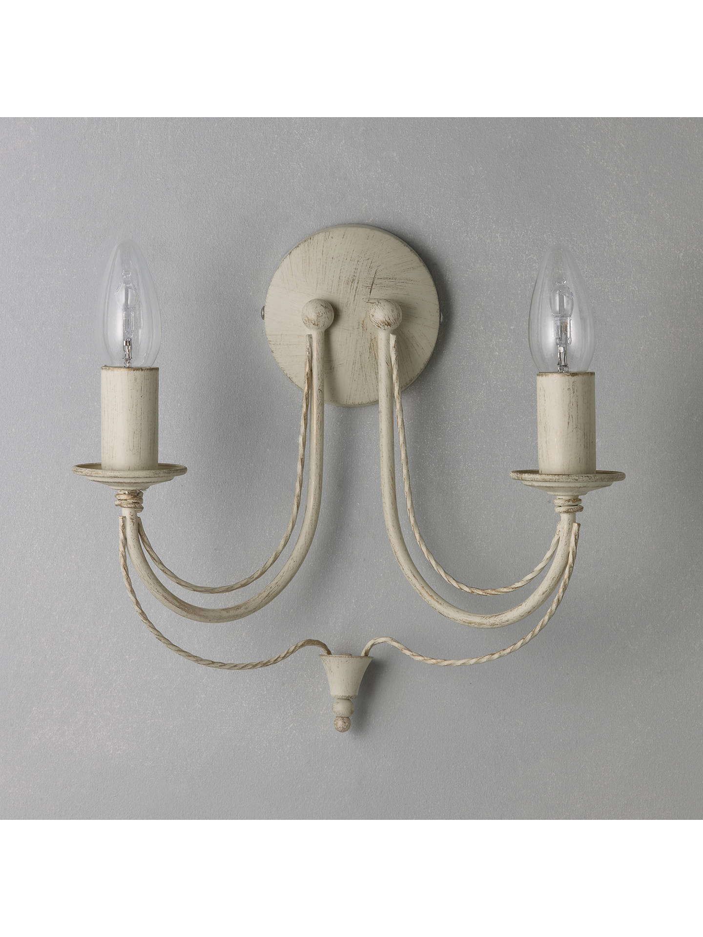 John Lewis Partners Jubilee 2 Arm Wall Light