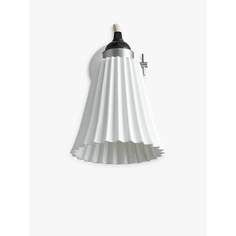 Buy Original BTC Hector Pleat Wall Light Online at johnlewis.com